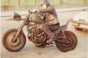 サバイバルバイク風バイク