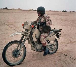 カワサキKLR250米軍
