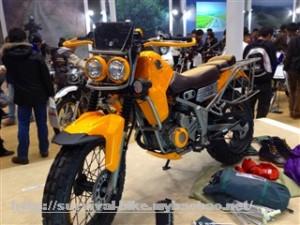 XTW250 モーターサイクルショー