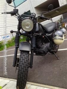 サバイバルバイク完成