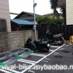 藤沢近辺のバイク駐輪場