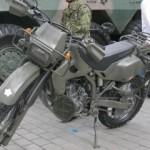 日本の自衛隊バイクも!