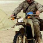 今度は、アメリカ軍偵察バイクが気になってきました。