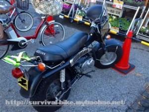 サバイバルバイク バンバン90